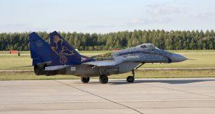 Истребитель МиГ-29 Венгрия