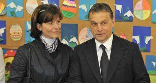 Виктор Орбан с супругой Анико Леваи