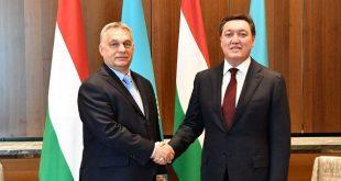 Виктор Орбан и Аскар Мамин